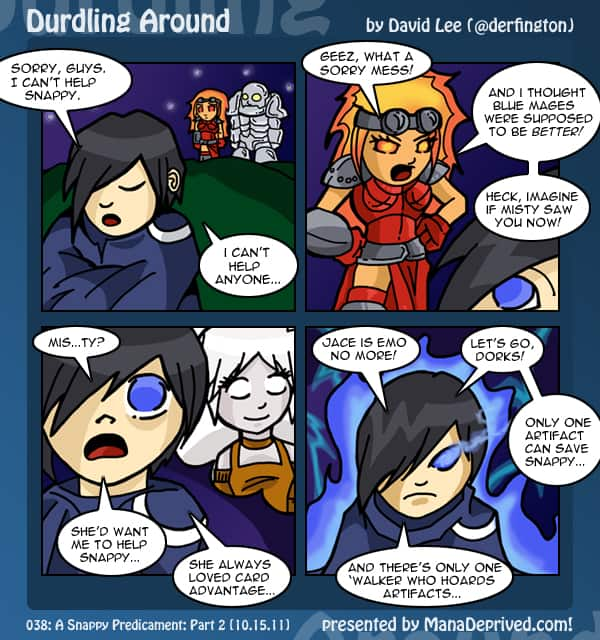 Durdling Around #38 – A Snappy Predicament, Part 2