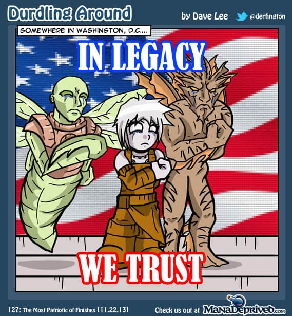 Durdling Around 127 – The Most Patriotic of Finishes