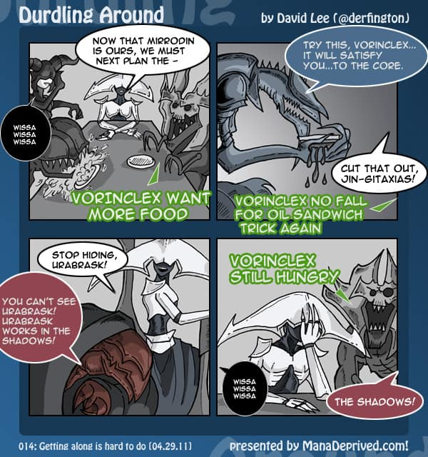 Durdling Around #14 – Getting Along is Hard to do