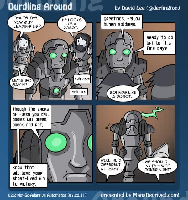 Durdling Around #26 – Not-So-Adaptive Automaton