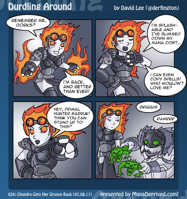 Durdling Around #24 – Chandra Gets Her Groove Back